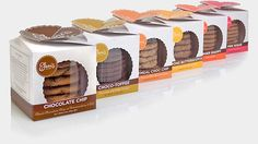 Award winning packaging and interactive work for this NYC based gourmet cookie company.