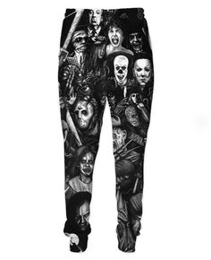 Horror Movie Collage Joggers
