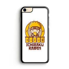 Ramen Ichiraku Naruto White iPhone 8 | Miloscase White Iphone 7 Case, Iphone 7 Phone Cases, Plastic Material, 6s Plus Case, How To Know, Ramen, Naruto, How To Apply