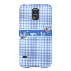 Checks and Butterflies Design Galaxy Note 4 Case