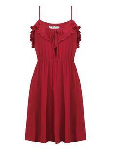 Sukienka Lovetta w kolorze czerwonym