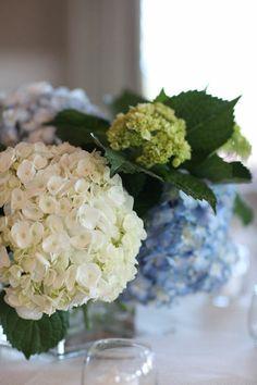 Copyright: Jennifer Bearden Photography Jennifer Bearden Photography www.jenniferbearden.com #weddings #charleston #chs #photography #flowers #blue #hydrangea #centerpiece