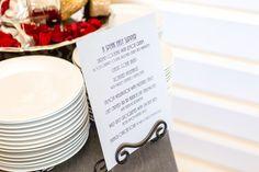 A Speak Easy Dinner! Love this food menu!