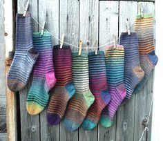 Ravelry: Kunibert's Stripey Sock Parade II