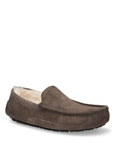 ugg australia men's ascot indoor outdoor leather slippers