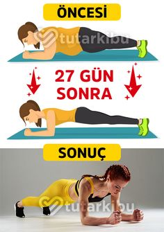 27 Günde Göbek Eritme With this program, you will melt the belly in 27 days by doing sports for a Body Workout At Home, At Home Workouts, Health Goals, Health Fitness, Sport Treiben, Health Care Reform, Health Articles, Diet Motivation, Loose Weight