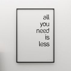 All You Need is Less... (Sobre Menos que é mais) | Rede Ubuntu | EUpreendedorismo