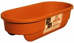 Apollo Plastics R2X6-TERRA 2 by 6 Mount Deck & Fence Railing Planter, 12-Inch by 24-Inch Rectangular, Terra Cotta by Apollo Plastics. $17.26. This low profile planter adds beauty without overpowering the surrounding view. Drainage holes are positioned at the bottom of each side of the planter to allow safe drainage of the excess water. 16-quart capacity. Rectangle shape; measures 12-inches in length by 24-inches width. Unique form fit design allows the planter ...