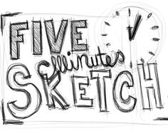 "Check out new work on my @Behance portfolio: ""FIVE MINUTE SKETCH"" http://be.net/gallery/44928217/FIVE-MINUTE-SKETCH"