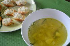 Cesnaková cesnačka Slovakian Food, Cantaloupe, Ale, Food And Drink, Soup, Fruit, Ethnic Recipes, Ale Beer, Soups