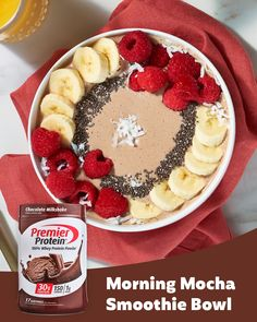 Protein Smoothies, Protein Shake Recipes, Low Carb Recipes, Snack Recipes, Protein Shakes, High Protein, Bariatric Eating, Bariatric Recipes, Healthy Treats
