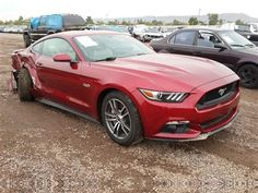 Right front of 2015 Mustang GT!