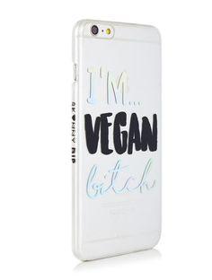 iPhone 6 PLUS / 6S PLUS Vegan Bitch Case