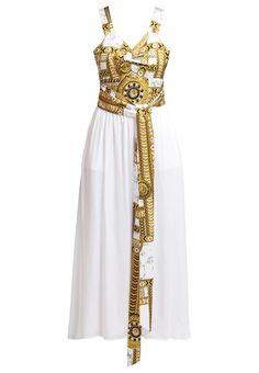 2ea64a5a7f Versace Femme Robes longues Jeans Robe longue - bianco,Versace chaussure Pas  Cher prix,