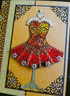 elizabeth craft designs | This card is a nice mix of the Elizabeth Craft Designs products, Peel ...
