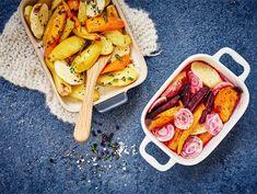 Uunijuurekset   Valio French Toast, Tacos, Banana, Fruit, Cooking, Breakfast, Ethnic Recipes, Food, Kitchen