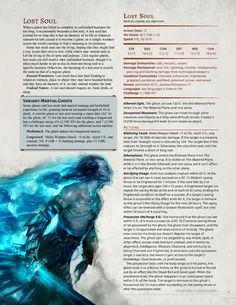 dark art DnD Homebrew Dark Arts Players Companion Monsters Part 2 by. Dungeons And Dragons 5e, Dungeons And Dragons Characters, Dungeons And Dragons Homebrew, Ocean Monsters, Dnd Monsters, Fantasy Creatures, Mythical Creatures, Dark Creatures, Mythological Creatures