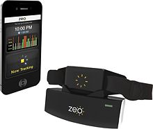 I should probably get this..  keeps track of your sleeping through the night - how much and when rem sleep etc. best part? a smart alarm - tell it you want to be up by 7:30, and if according to your sleep cycles it would be better to wake up at 7:15 - it'll do that for you. Scott needs this.