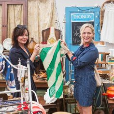 Starting now! ✨ Shop @em_henderson's vintage finds from #RoundTop. The design star joins forces with our co-founder @annabrockway for treasure hunting at Texas's famed flea market. Be the first to score Emily's picks!