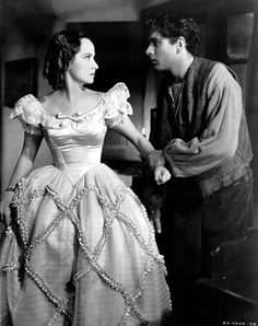 """Merle Oberon & Laurence Olivier """"WUTHERING HEIGHTS"""" (1939)"""