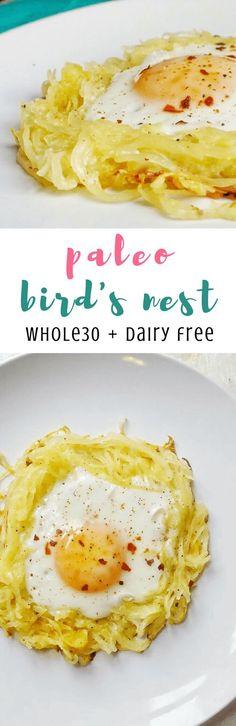 Paleo Bird's Nest (Whole30, Dairy Free)   Personally Paleo