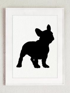 Französische Bulldogge set 12 Hund Illustration von ColorWatercolor