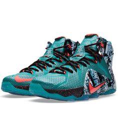 detailed look b7990 7a249 Nike LeBron XII Akron Birch (Emerald Green)