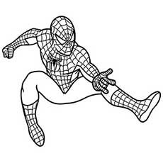 spiderman coloring pages pdf | Coloring pages - superheroes ...