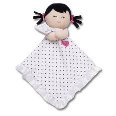 Amazon.com: Carter's Plush Security Blanket, Polka Dot Doll (Discontinued by Manufacturer): Baby