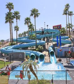 """Golfland Sunsplash in Mesa, AZ- water park that was actually a part of """"Bill & Ted's Excellent Adventure"""""""