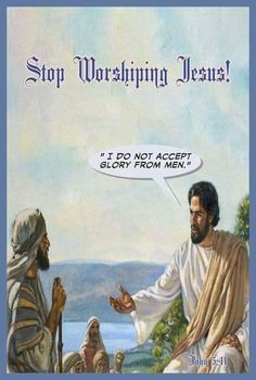 Do not worship Jesus.  He directs all worship to go to his Father, Jehovah.