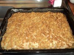 Strúhaný jablkový koláč (fotorecept) - obrázok 13 Apple Pie, Nutella, Macaroni And Cheese, Erika, Ethnic Recipes, Hampers, Mac And Cheese, Apple Pie Cake, Apple Pies