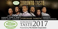 More Chefs talk about the importance of Second Harvest, and what they are Serving at Sunday's Toronto Taste 2017. Tix still available at www.torontotaste.ca