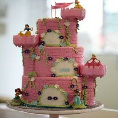 6 Creative Princess Birthday Cakes