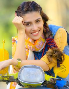 Awesome Pictures of Actress Ayeza Khan for Eid Telefilm Vespa Girl Beautiful Girl Photo, Cute Girl Photo, Beautiful Girl Indian, Beautiful Indian Actress, Cute Girl Poses, Girl Photo Poses, Girl Photos, Pakistani Girl, Pakistani Actress