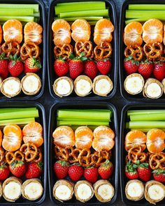 Peanut Butter and Banana Roll Ups Snack Box - These quick wraps are so much fun and easy, packed with strawberries, pretzels, tangerines and celery sticks! snacks meal prep Peanut Butter and Banana Roll Ups Snack Box Snacks Diy, Lunch Snacks, Lunch Recipes, Healthy Recipes, Diet Recipes, Meal Prep Recipes, Pasta Recipes, Creative Snacks, Cooking Recipes