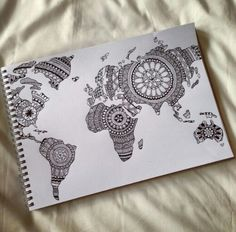 #travel #world #paper #globe