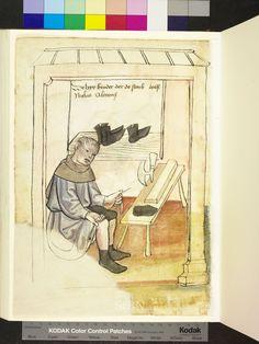 Mendel Housebook, Amb. 317.2° Folio 35a verso, c 1425, Nuremberg (Nürnberg)