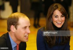 Prince William, Duke of Cambridge and Catherine, Duchess of Cambridge are seen during their visit to Dundee Rep theatre as part of an away day to the Scottish City on October 23, 2015 in Dundee,...