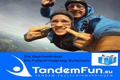 Event Fallschirmspringen Tandemsprung als Gruppenevent mit Tandemfun aus Bayern. Firmenevent, Incentives, Vereine, Freundesgruppen. Jetzt informieren.