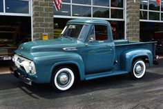 1954 Ford F-100.  I can see myself driving this, but in a hotter color!  :)