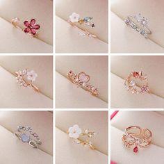 Hand Jewelry, Jewelry Rings, Jewelery, Jewelry Accessories, Jewelry Design, Accessories For Girls, Fancy Jewellery, Stylish Jewelry, Cute Jewelry