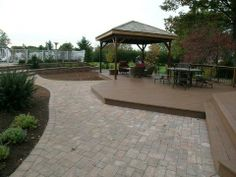 Deck and Paver Combinations   20Azek%20Morado%20decking%20with%20brick%20pavers%20and%20covered ...