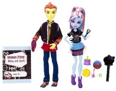 Monster High – BBC82 – Poupée – Duo Abbey et Heath | Your #1 Source for Toys and Games
