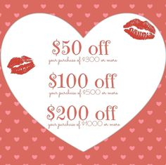 Special Valentine's Day promotion!