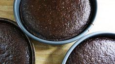 Chocolate cakes waiting to become #blackforrestcake!