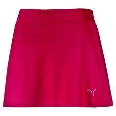 Women's Solid Knit Golf Skirt