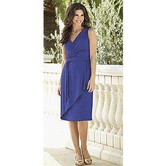Dress, Drape Waist from Seventh Avenue ®