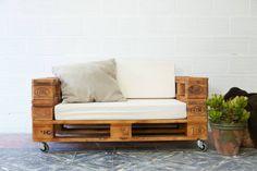 europalette holz paletten ideen couch selber bauen