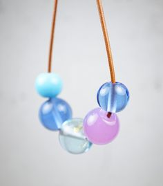 Pantone Trend Colors 2016 // Contemporary Jewelry // Murano Glass Jewelry // by melaniemoertel